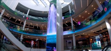 When design and digital create magic in shopping centers
